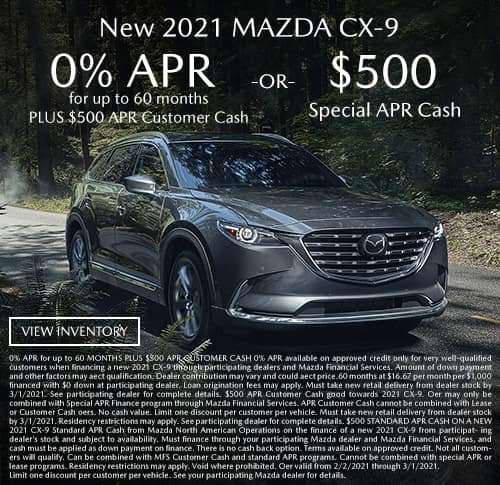 All New 2020 Mazda CX-9