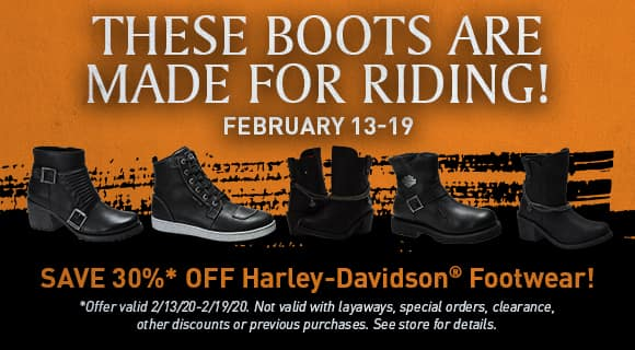 boots on sale, 30% off, exclusions apply, see store for details