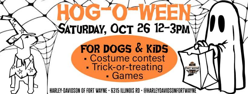 Hog-o-Ween HARLEY-DAVIDSON Costume contest halloween