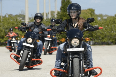 RIDER TRAINING GRADUATES 4.49% APR OFFER ON USED