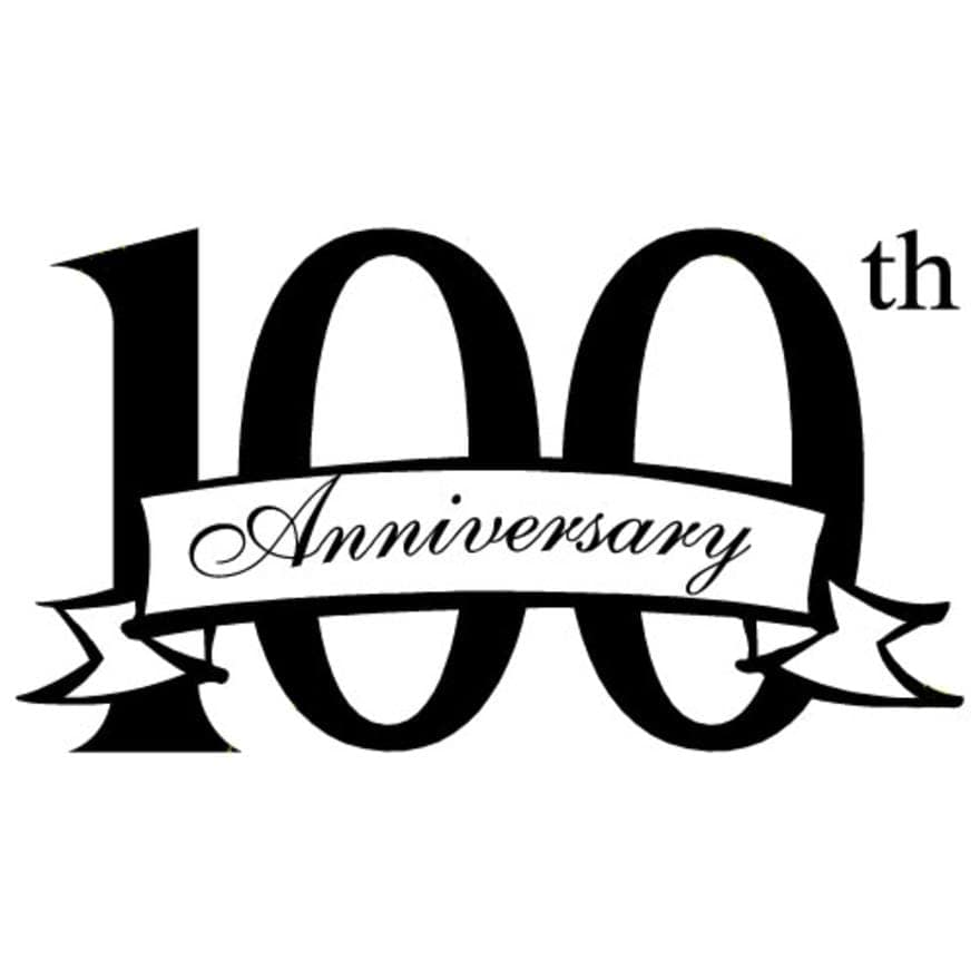 100th Anniversary Banner