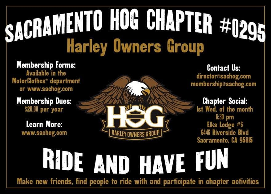 Harley Owners Group Chapter Infographic