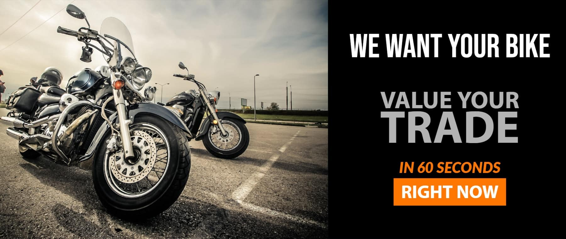 Value Your Trade Bike Banner