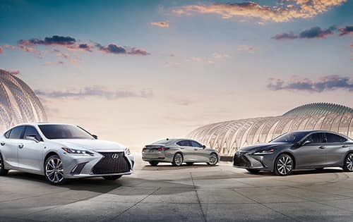 Limited Time APR Offer - On Select New 2021 Lexus ES & ES Hybrid Styles*