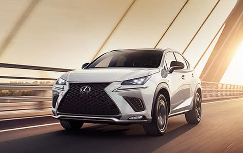 Limited Time APR Offer - On Select New 2021 Lexus NX & NX Hybrid Styles*