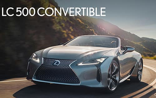 Limited Time APR Offer - On A New 2021 Lexus LC Convertible*