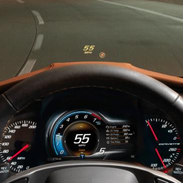 speedometer of Grand Sport
