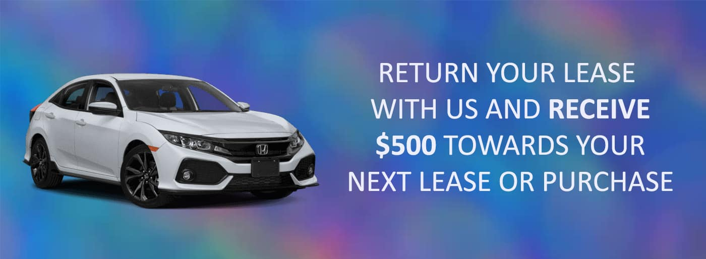 Honda Lease Return