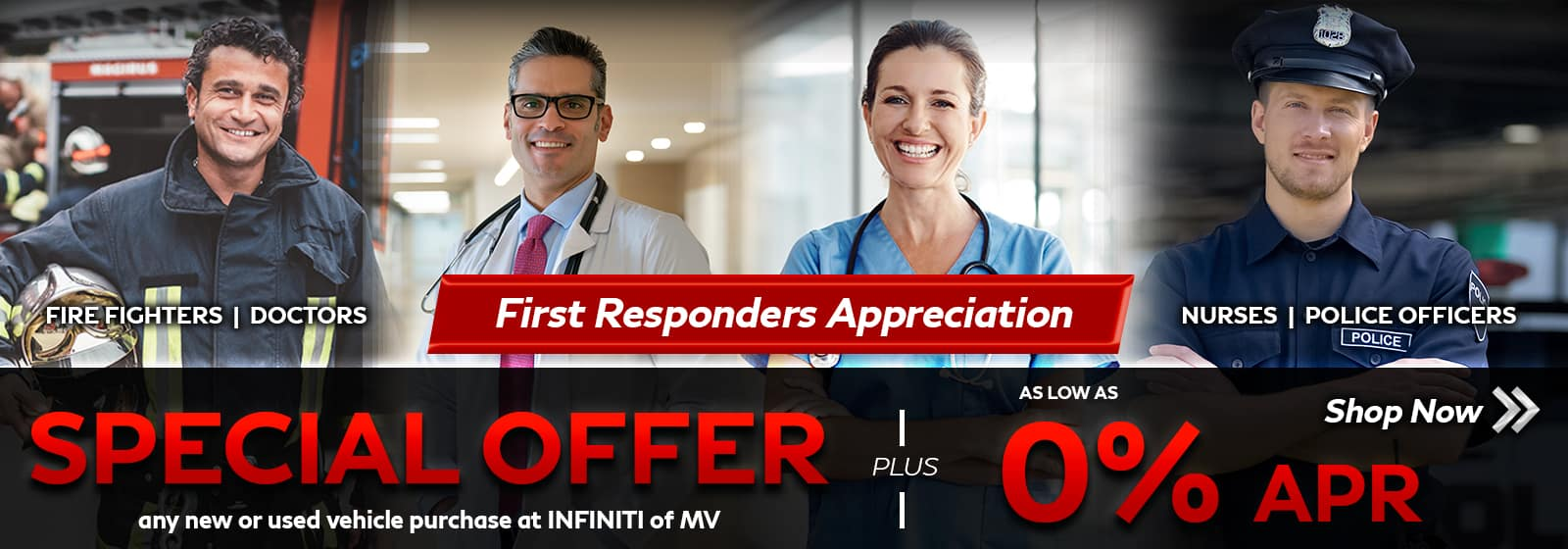 INFINITI of Mission Viejo First Responders Discount