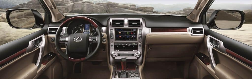 Lexus GX 460 Interior Amenities
