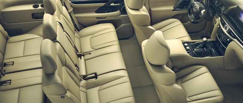 Lexus SUV Models: Lexus LX