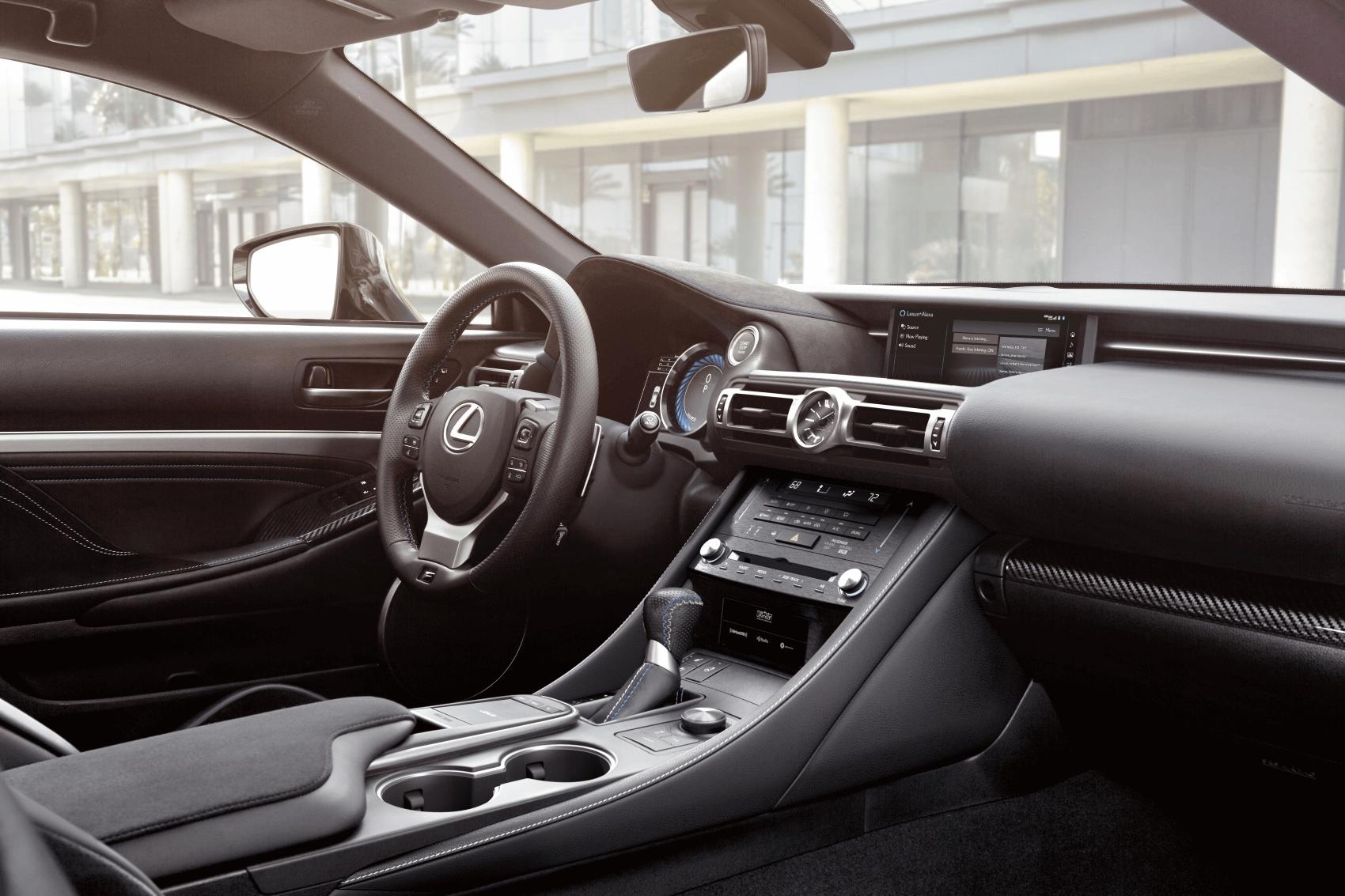 Lexus RC Reviews 2020 Lexus RC Interior Dashboard