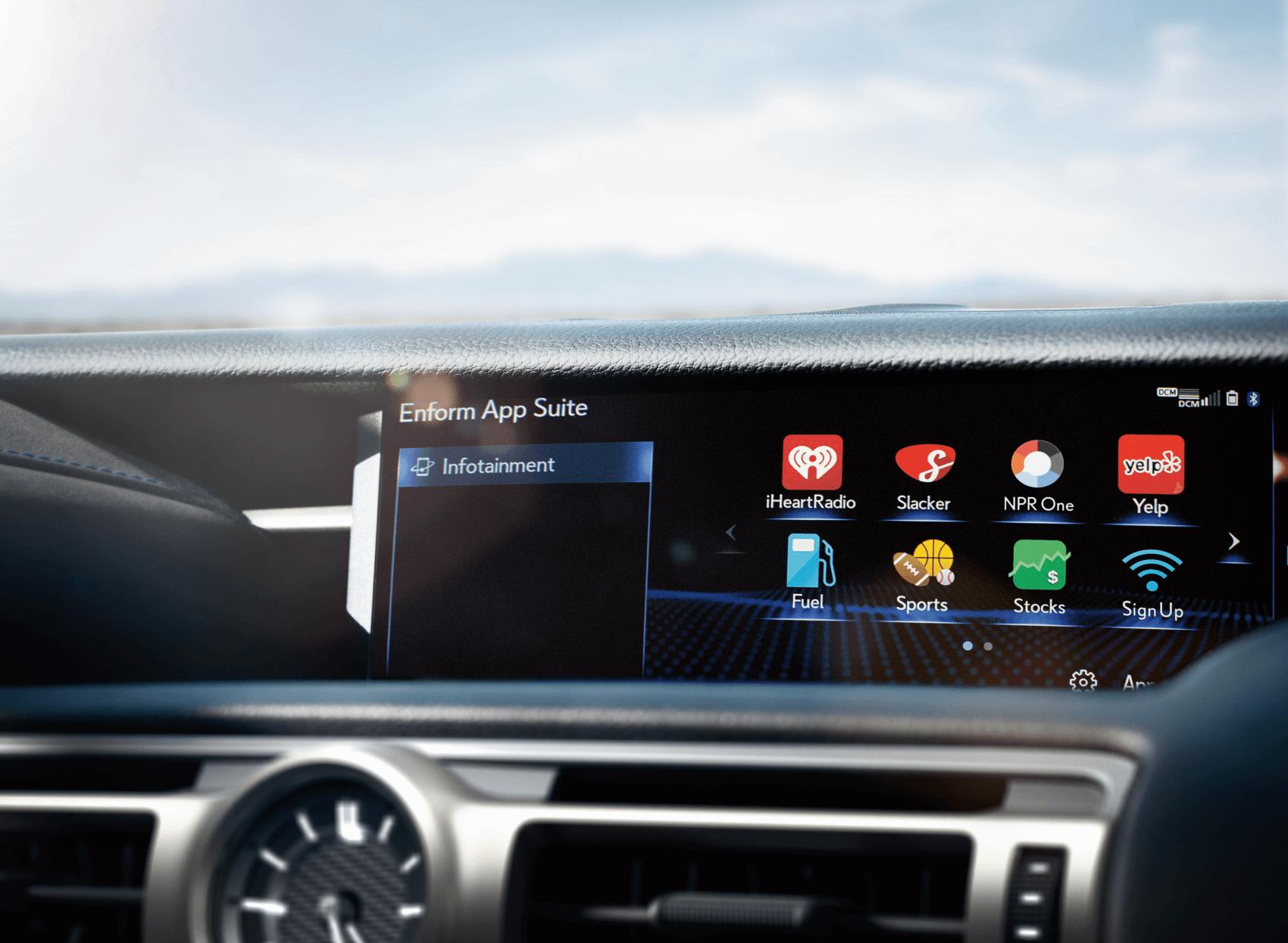 Lexus RC Reviews 2020 Lexus RC Interior Dashboard Tech Features