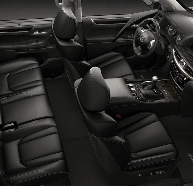 2021 Lexus LX: Interior Space