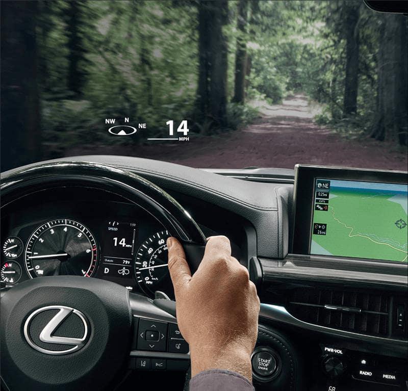 2021 Lexus LX: Cabin Amenities