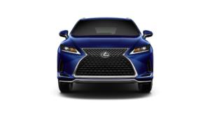 Lexus RX 350 MPG Front View Blue
