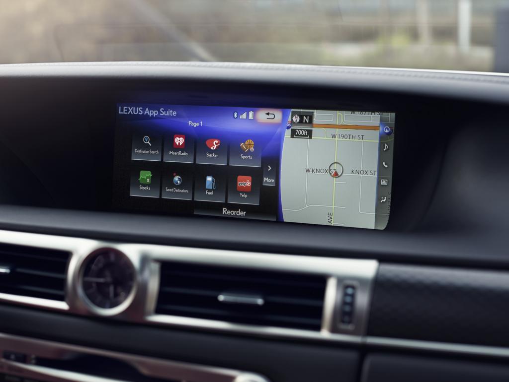 Lexus GS 350 Technology