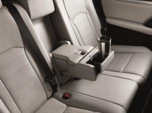 Lexus RX 350 Seating and Interior Space
