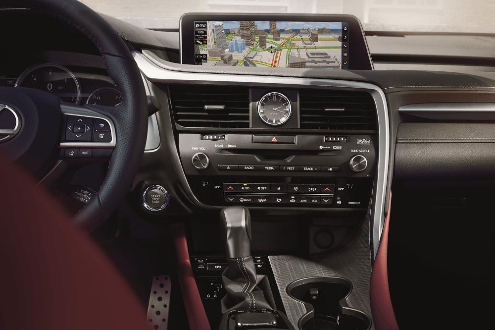 Lexus RX Safety Features