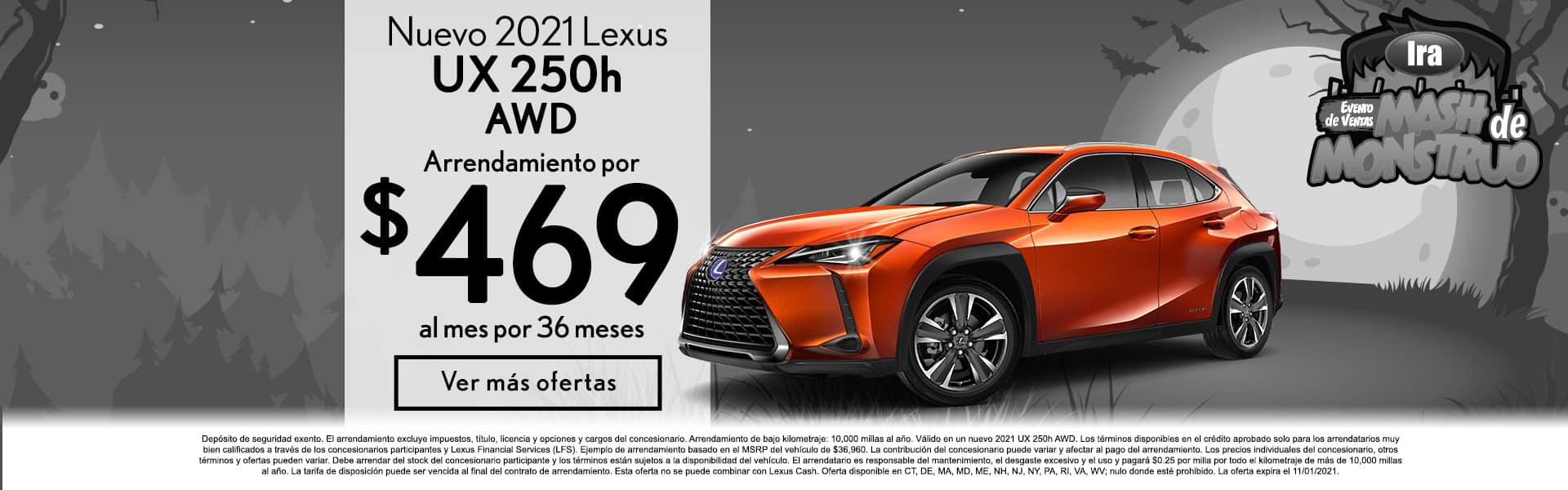IraLexusManchester_SpanishSlide_1900x600_UX250h_10-21