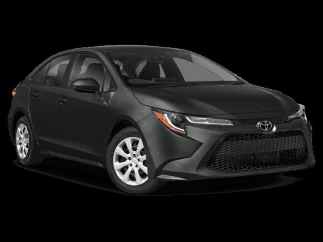 New 2021 Toyota Corolla LE FWD Sedan