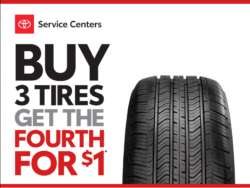 OCT Tire Offer Service Special