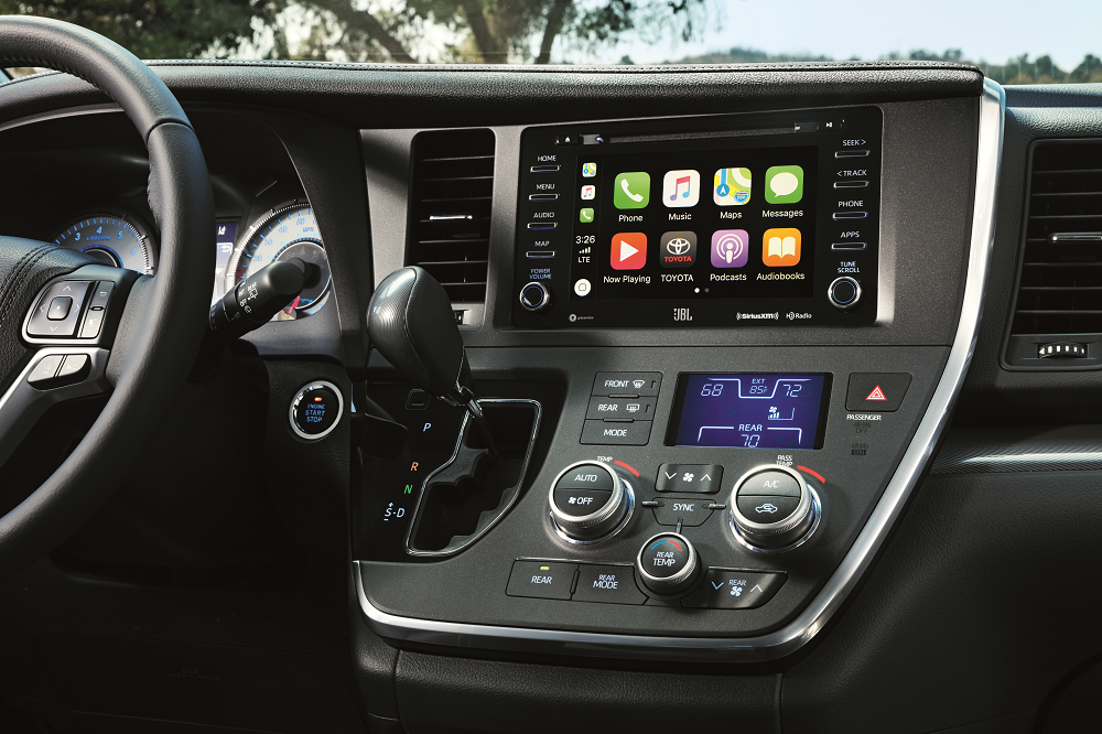 Toyota Sienna Technology Features