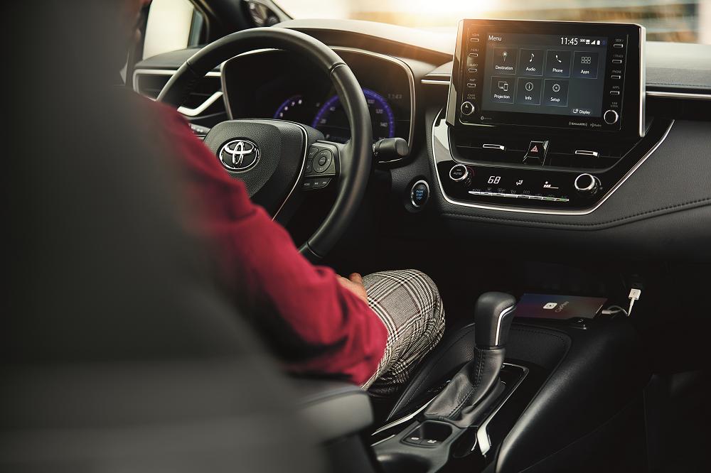 Toyota Corolla Interior Safety