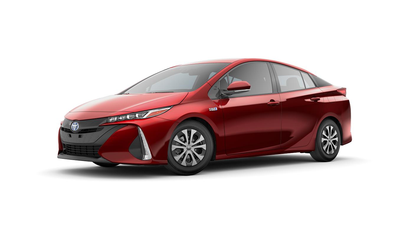 2020 Toyota Prius Prime Supersonic Red