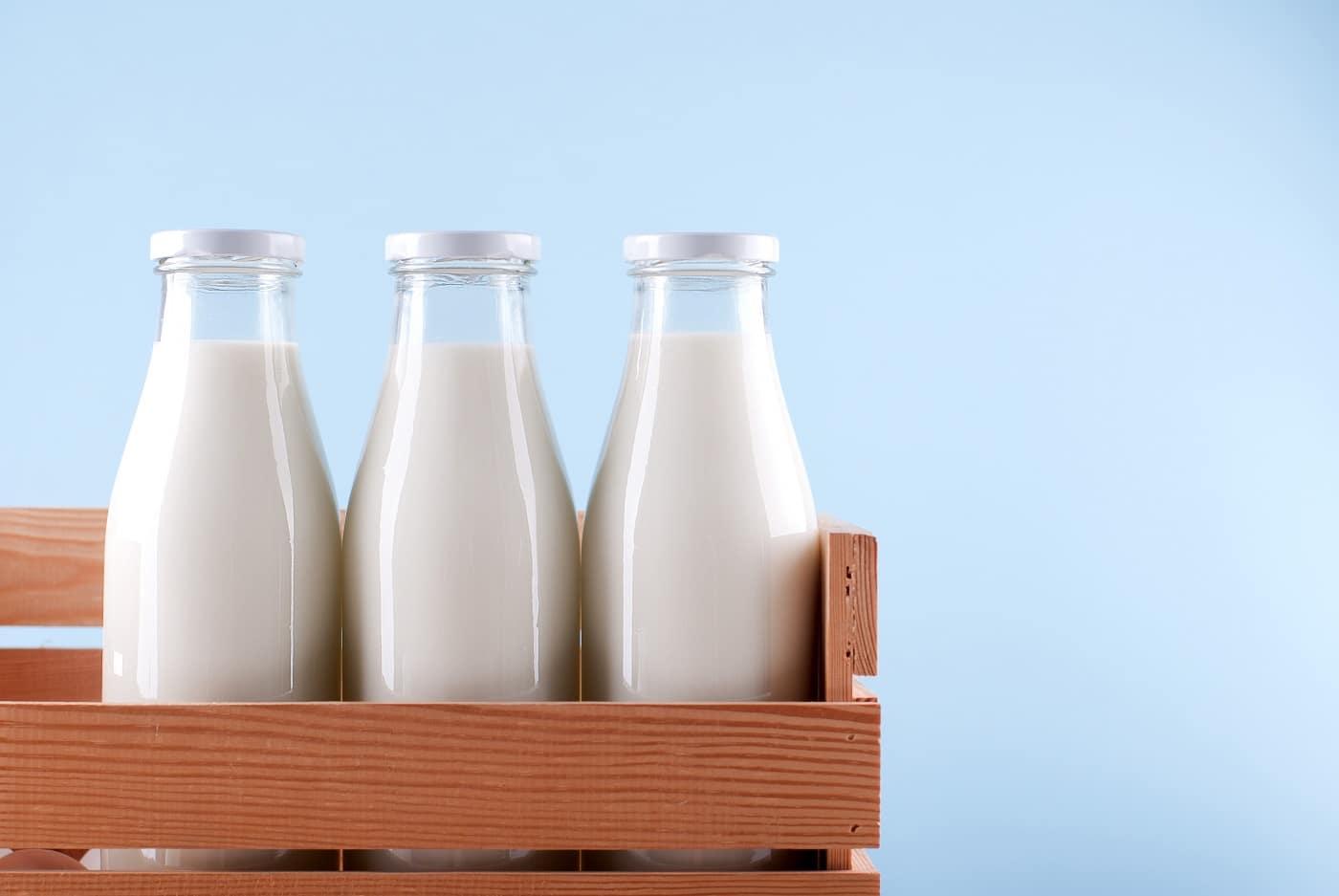 Bottled Milk