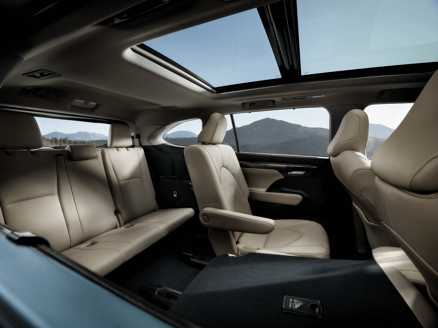 2020 Toyota Highlander Interior Cabin