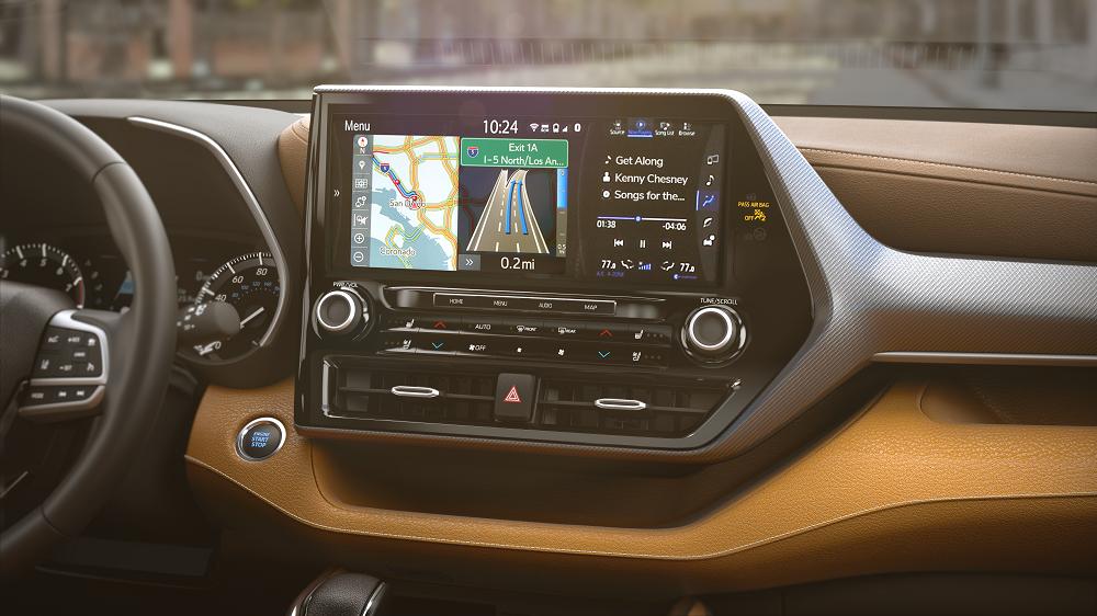2020 Toyota Highlander Interior Technology