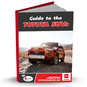 Guide to the Toyota SUVs
