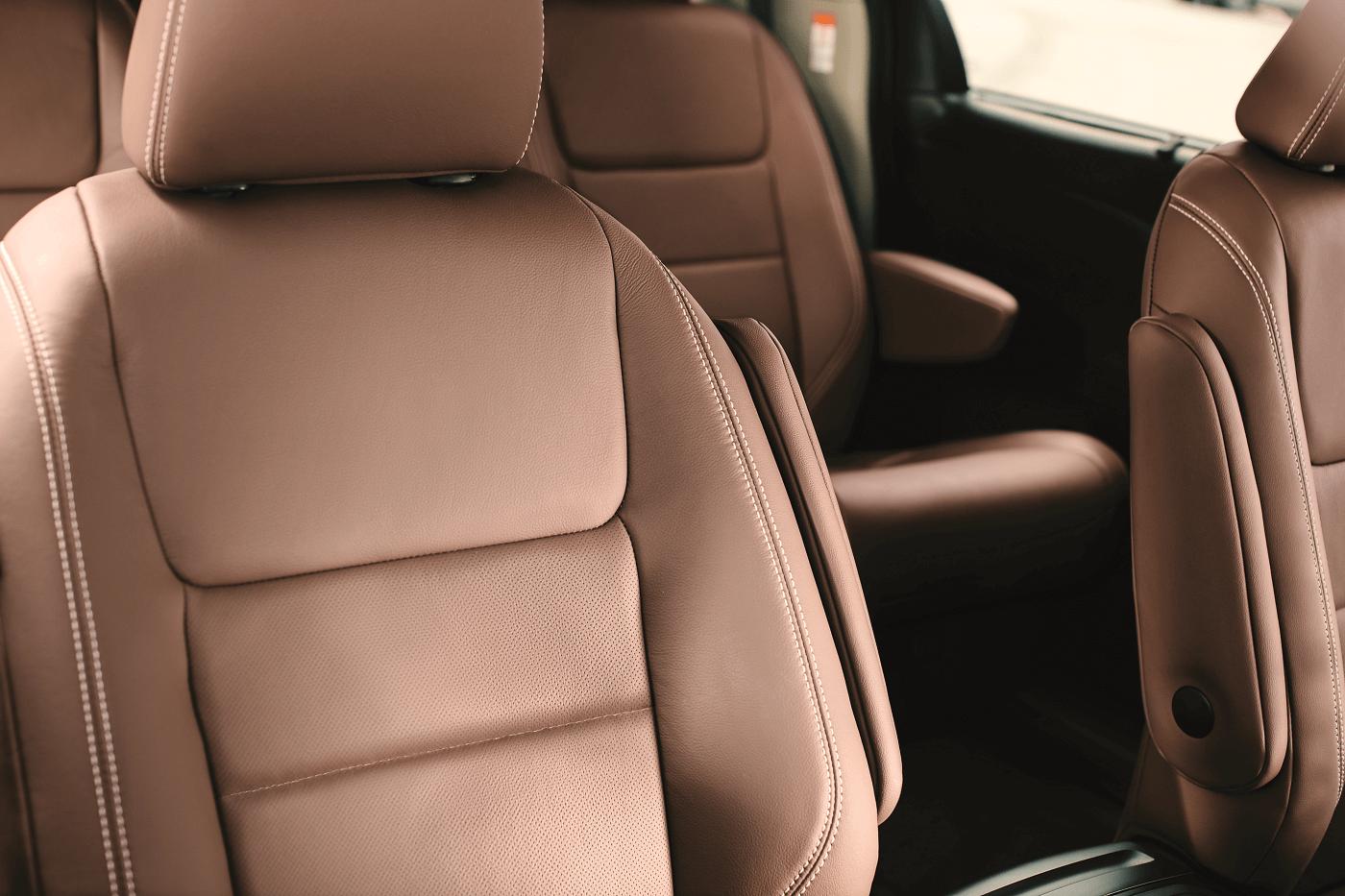 Toyota Sienna Interior Cabin