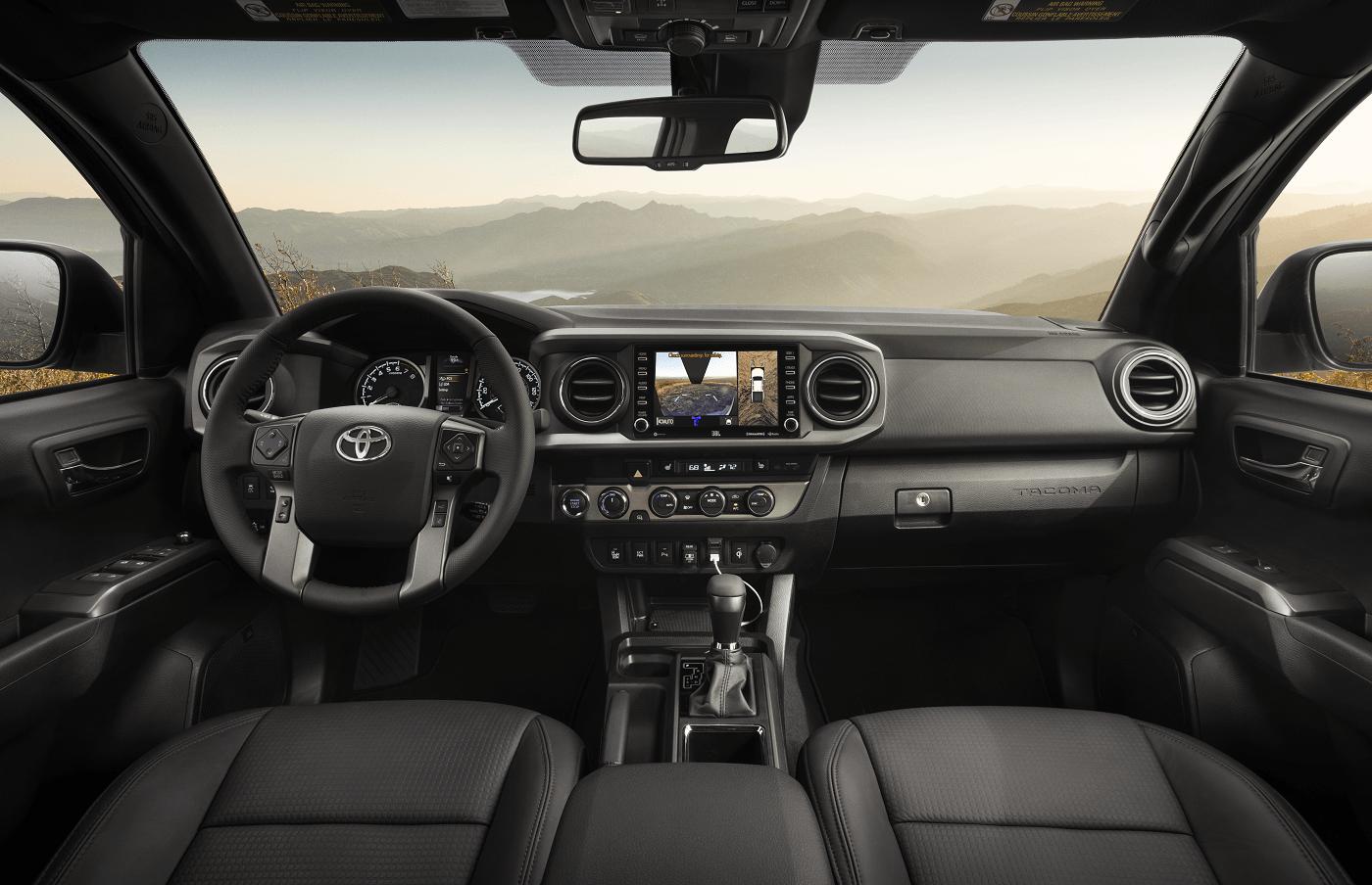 Toyota Tacoma Safety Technology