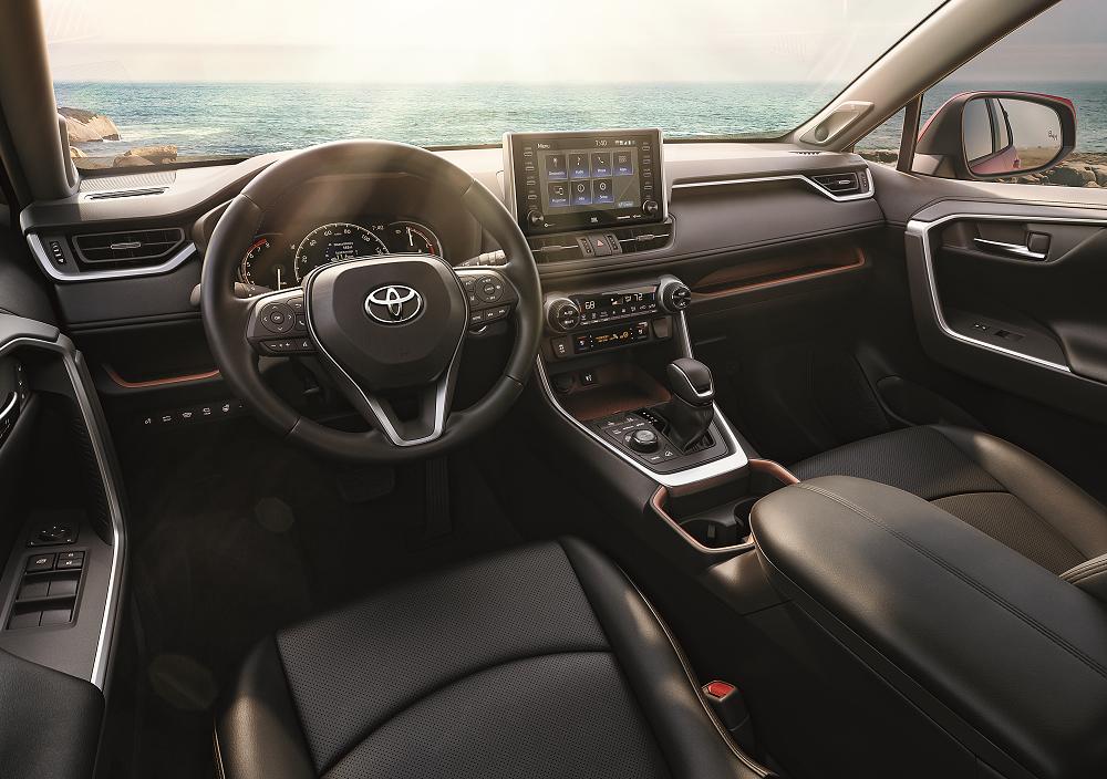 Toyota RAV4 Interior Technology