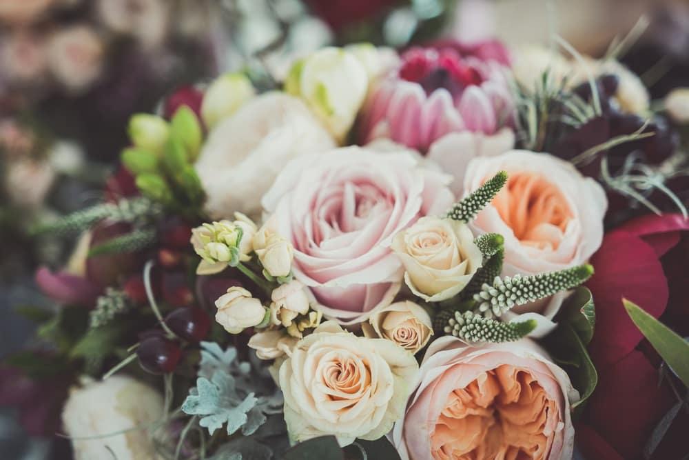 Bouquets near Tewksbury
