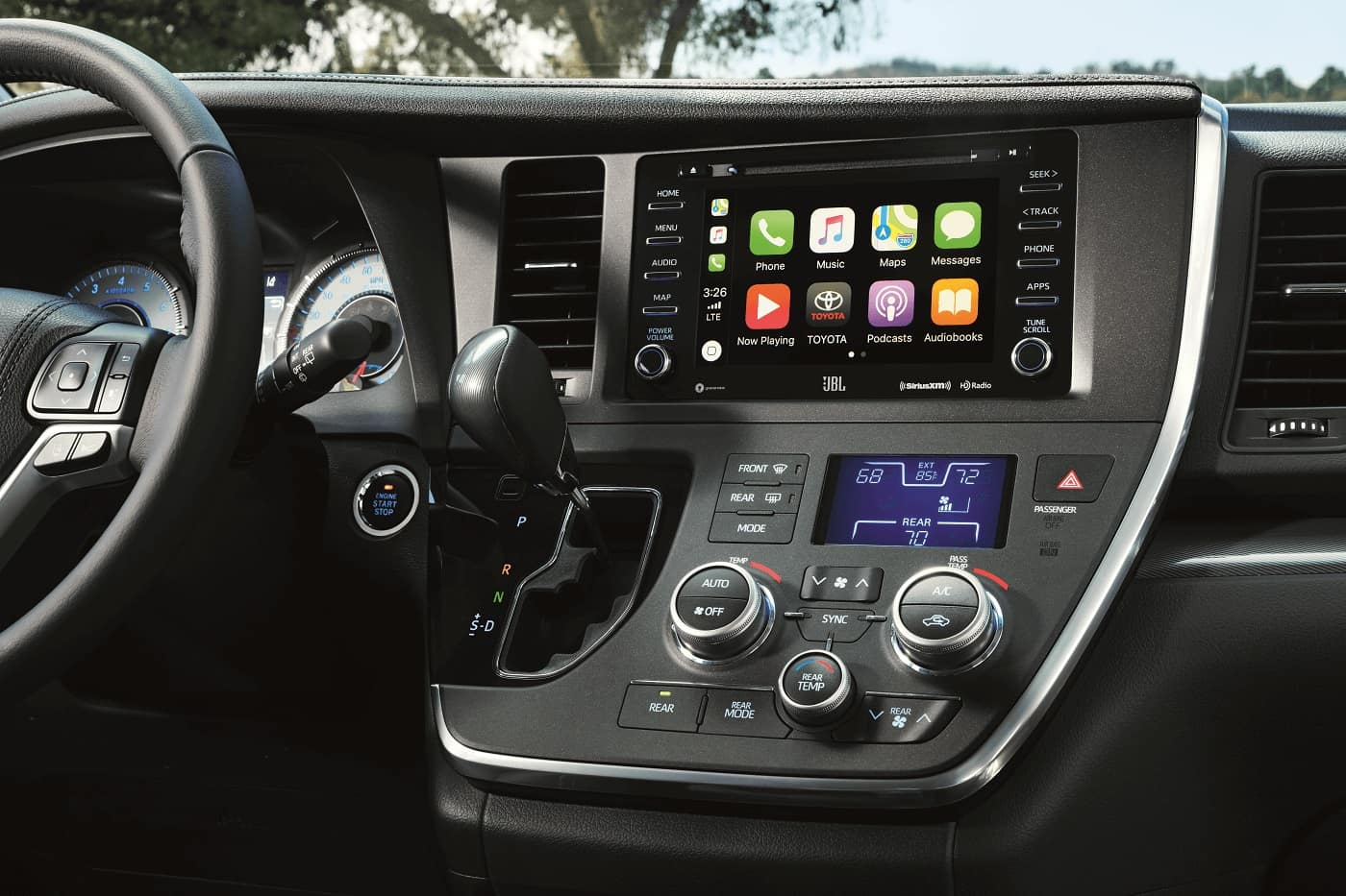 2020 Toyota Sienna Infotainment
