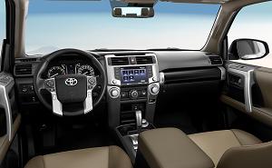 2020 Toyota 4Runner Interior Tech