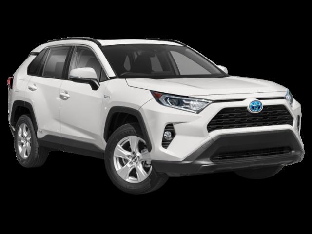 New 2021 Toyota Rav4 Hybrid LE AWD