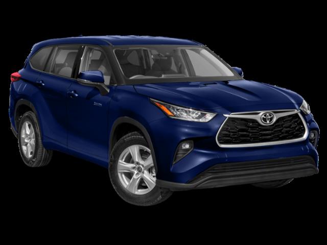 New 2021 Toyota Highlander Hybrid LE AWD SUV