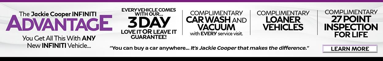 Jackie Cooper INFINITI advantage