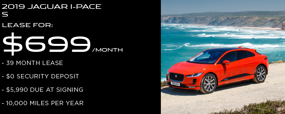 New 2019 Jaguar I-PACE S With Navigation & AWD