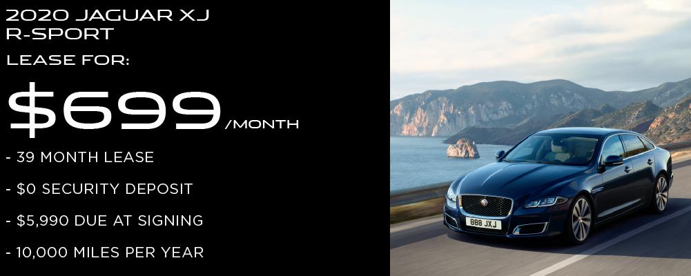 New 2019 Jaguar XJ R-Sport With Navigation