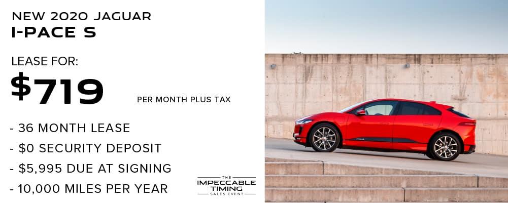 New 2020 Jaguar I-PACE S