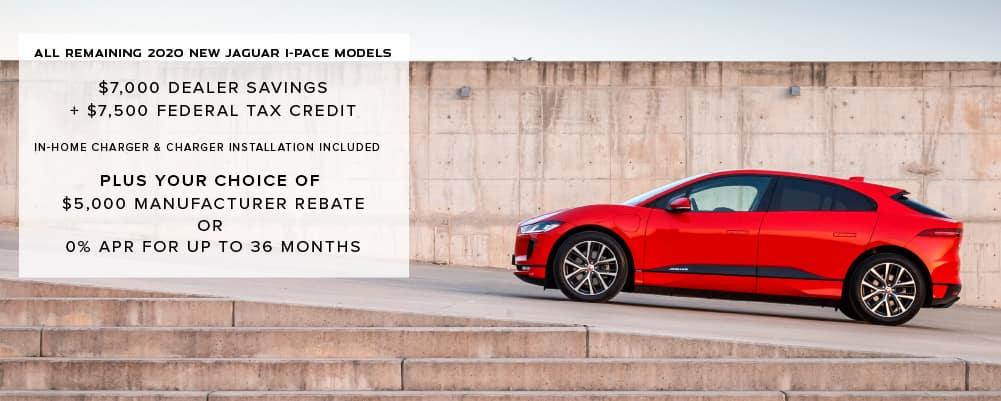 All Remaining 2020 New Jaguar I-PACE Models