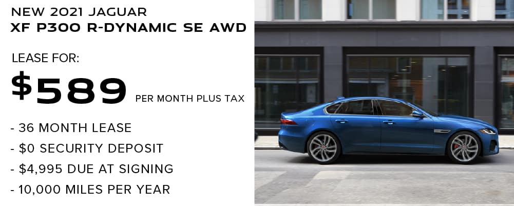2021 Jaguar XF P300 R-Dynamic SE AWD