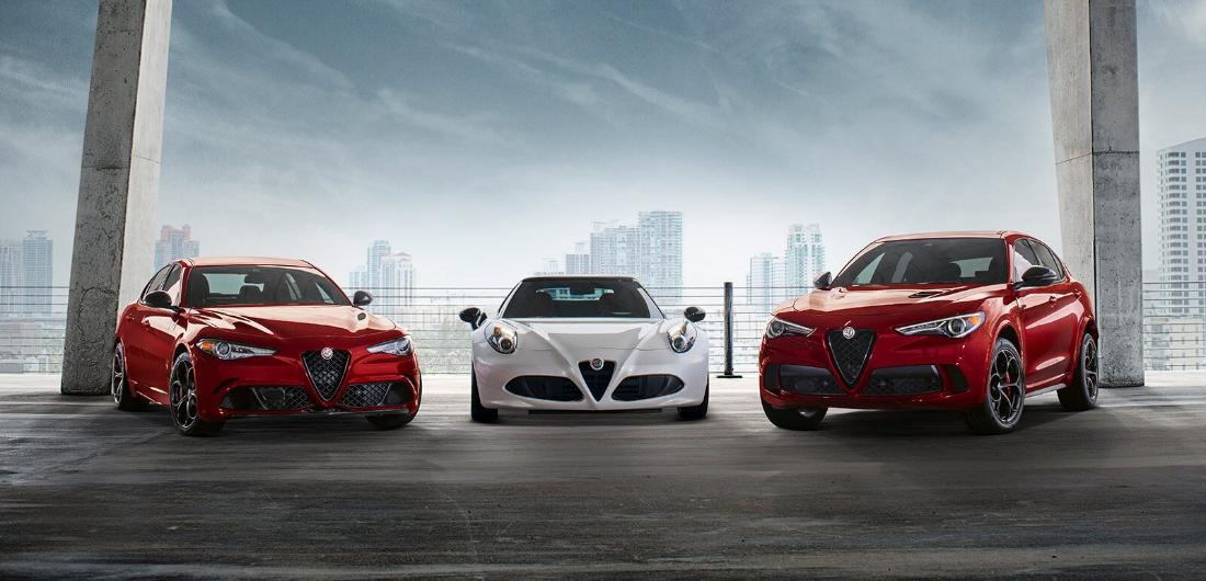 Alfa Romeo Model Lineup