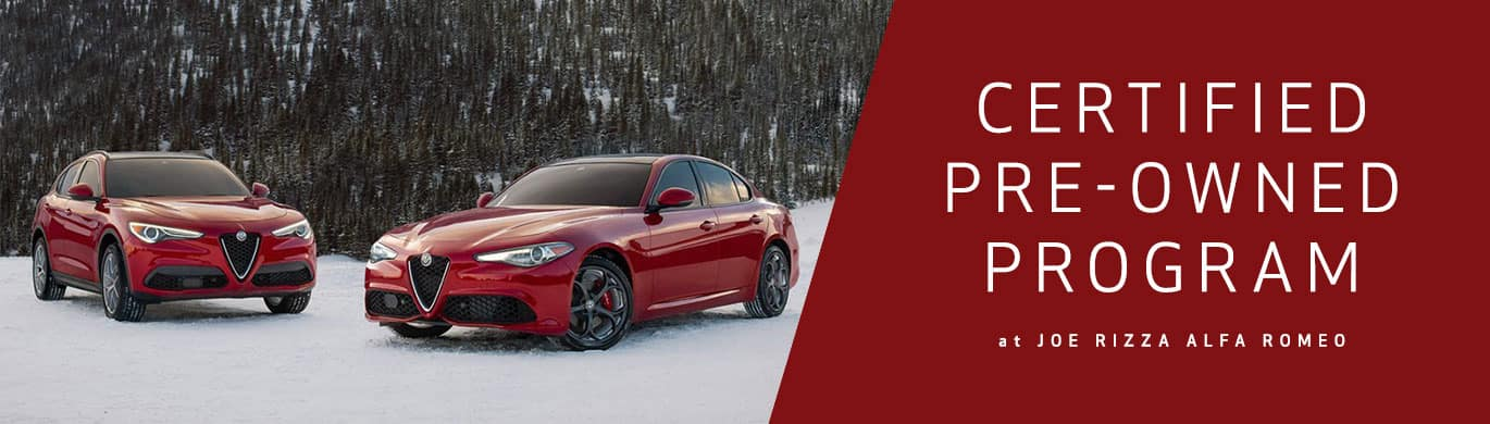 Alfa Romeo Certified Pre-Owned Program
