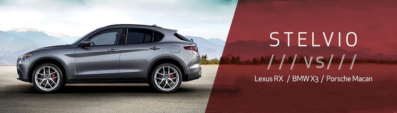 2019 Alfa Romeo Stelvio Luxury Comparison